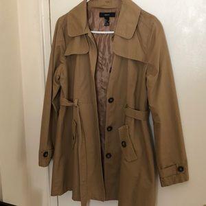 Forever 32 trench coat